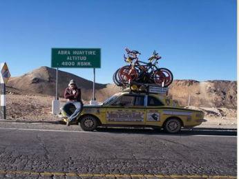 Em 2013, grupo foi até o Peru, passando pela Cordilheira dos Andes (Foto: Marcelo Pardal/Arquivo pessoal)