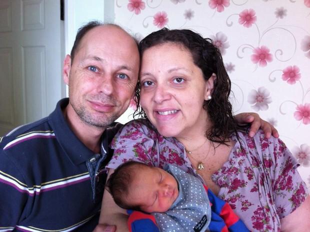 Mogiana e a família querem voltar do Nepal (Foto: Renata Rubilar/arquivo pessoal)