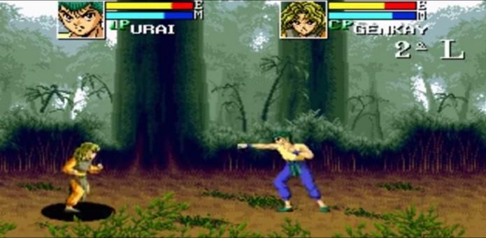 Yu Yu Hakusho - Sunset Fighters (Foto: Reprodução)