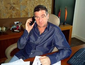 Eduardo Uram, empresário (Foto: Richard Fausto / GLOBOESPORTE.COM)