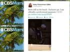 Repórter da TV americana divulga supostas fotos de Bieber após prisão