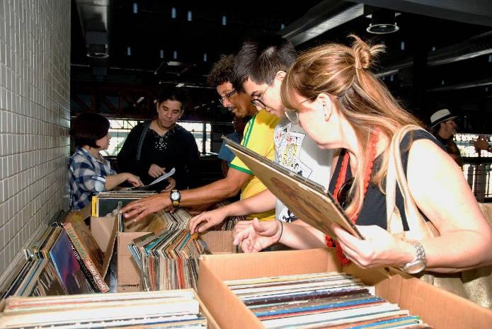 Feira do Vinil estreou ano passado e trá segunda edição em novembro. (Foto: Divulgação)