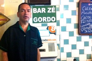 """Zé Gordo espera uma maior popularização do bitcoin - que deve """"vir com o tempo"""". """"Cartão de crédito também demorou para vingar"""", afirma (Foto: Época Negócios)"""