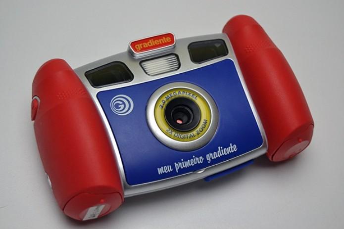 Câmera MPG 2C da Gradiente (Foto: Stella Dauer)