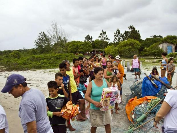 Ajuda humanitária, trabalho social, Expresso da Cidadania, Ouro Fino, Alexandre Barbado (Foto: Arquivo Pessoal/ Alexandre Barbado)