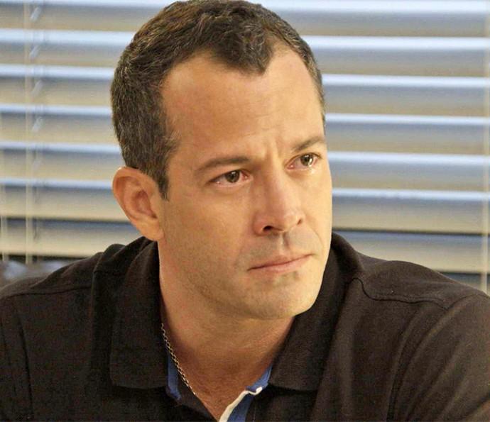 Apolo também fica com os olhos marejados ao conversar sobre relação com Tancinha (Foto: TV Globo)