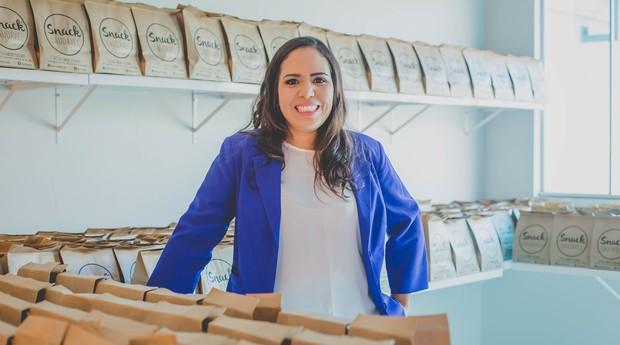 Larissa Souza dos Santos, fundadora da Snack Saudável (Foto: Divulgação)
