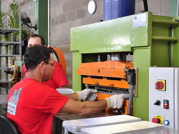 fábrica centro de ressocialização de cuiabá (Foto: Eduarda Fernandes/ G1)