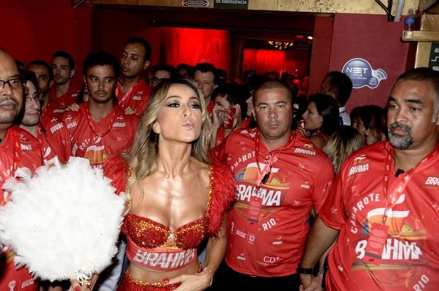 Sabrina Sato na Sapucaí (Foto: Roberto Teixeira/ EGO)
