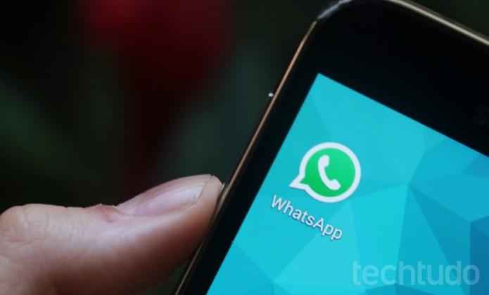 WhatsApp (com marca d'água) (Foto: Luciana Maline/TechTudo)