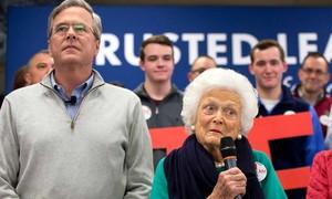 Ex-primeira dama e ex-presidente dos EUA reforçam campanha de Jeb Bush