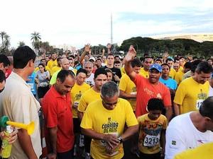 Atletas interessados em participar da Corrida de Reis de Brasília podem se inscrever pela internet até o próximo dia 24 de janeiro (Foto: Mary Leal/Divulgação)