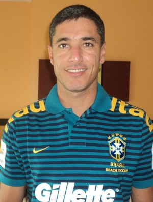 Erasmo Serafim, treinador de goleiros da Seleção Brasileira de futebol de areia (Foto: Divulgação/Arquivo Pessoal)