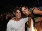 Rômulo Neto - agora solteiro - e outros famosos curtem baile funk no Rio