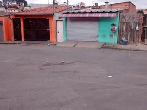 Um dos crimes foi na Rua  Gumercindo (Foto: Maiara Barbosa/G1)