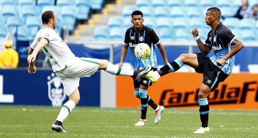 pés para  o alto (Lucas Uebel/Divulgação Grêmio)