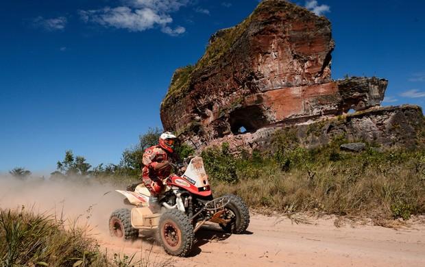 Competidores do Rally dos Sertões frealizam a última prova no Tocantins (Foto: Marcelo Maragni/Fotoarena)