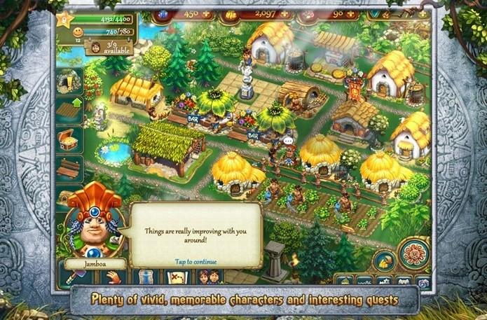 Monte sua aldeia nos tempos antigos (Foto: Divulgação)