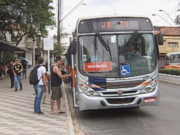 Comissão avaliou a qualidade do transporte coletivo em Bauru  (Foto: reprodução/TV Tem)