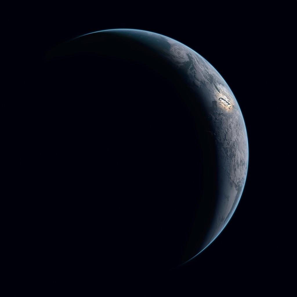 Terra (Foto: NASA/Michael Benson)
