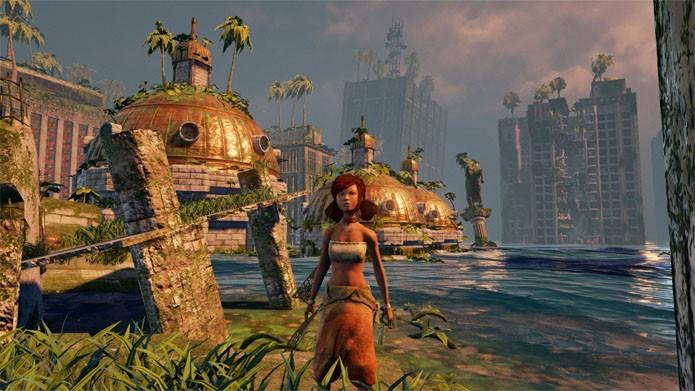 Explore a cidade (Foto: Divulgação/Uppercut Games)