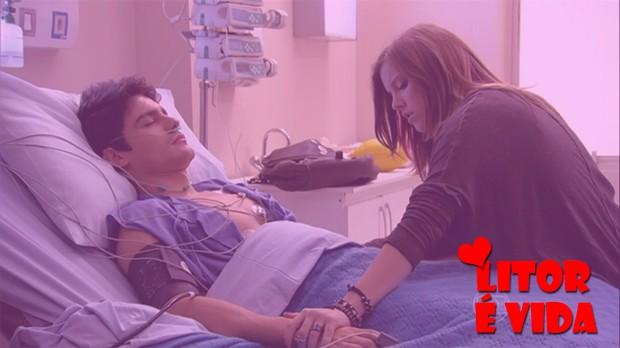LiTor é Vida!!! (Foto: Malhação / TV Globo)