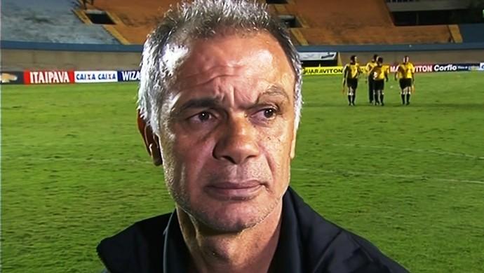 Jorginho, técnico do Atlético-GO (Foto: Reprodução/Premiere)