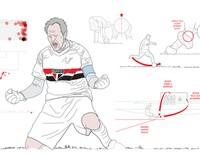 Aprenda a bater faltas como Rogério Ceni (arte esporte)