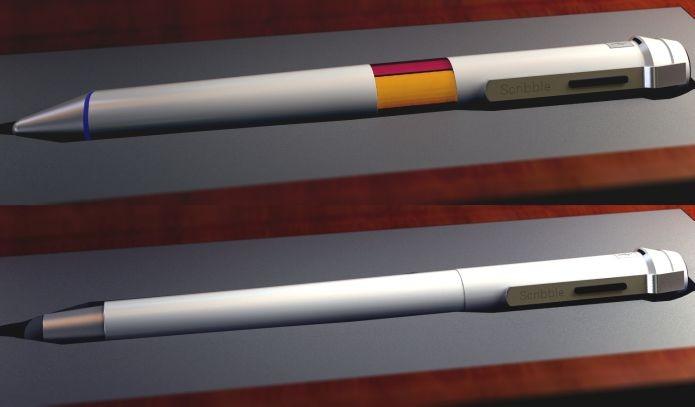 Scribble possui dois modelos e promete absorver cores dos ambientes (Foto: Divulgação)