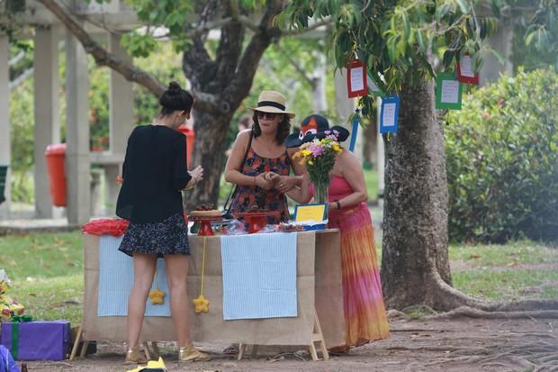 Regiane Alves e Regina Duarte (Foto: Dilson Silva/AgNews)