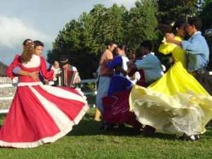 Danças Mistura musica maxixe samba frevo vanerão (Foto: Divulgação/Marca Gaúcha)