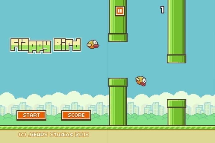 Flappy Bird, o sucesso do momento (Foto: Divulgação)