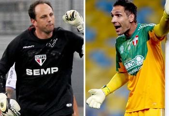 Rogério Ceni e Fernando Prass (Foto: Getty)