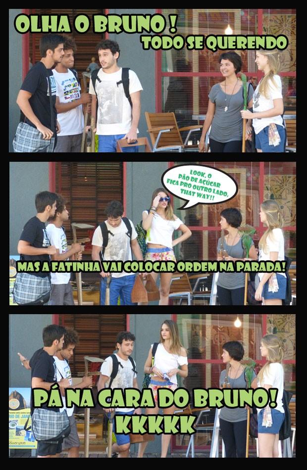 Como não amar #BruTinha? (Foto: Malhação  Tv Globo)