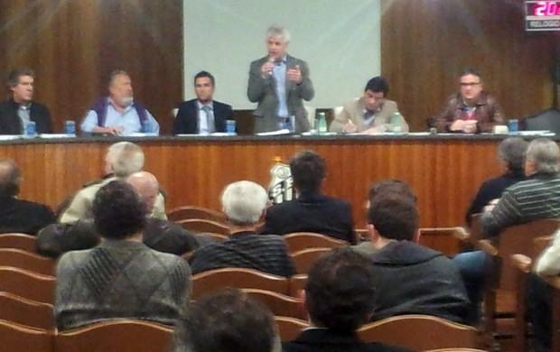 Conselho Deliberativo - Santos - Reunião (Foto: Fernando Prandi)