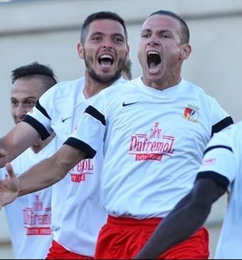 Milsami vence Ludogorets Liga dos Campeões (Foto: Divulgação / UEFA)