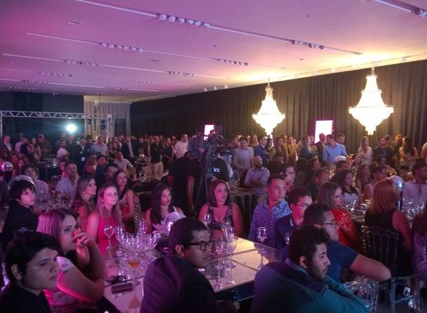 Convidados assistem à Premiação Maranhense de Propaganda (Foto: Michel Sousa/ G1)