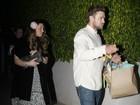 Grávida, Jessica Biel comemora aniversário com Justin Timberlake