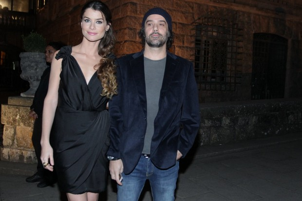 Alinne Moraes e Mauro Lima (Foto: Marcello Sá Barretto / AgNews)