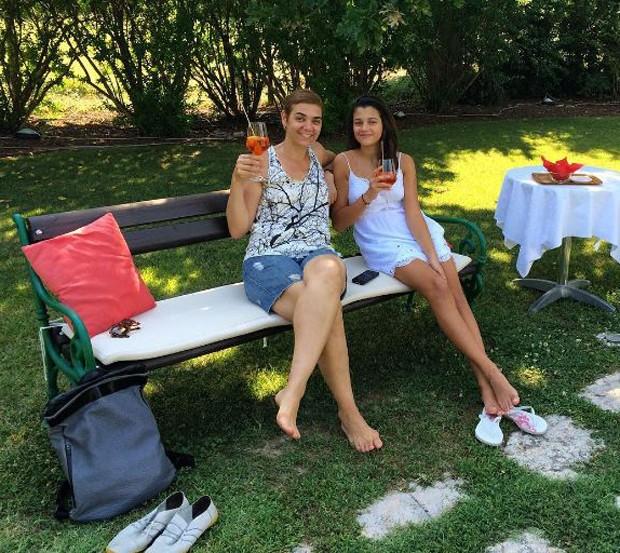 Solange Badim e a filha, Sofia (Foto: Reprodução/Instagram)