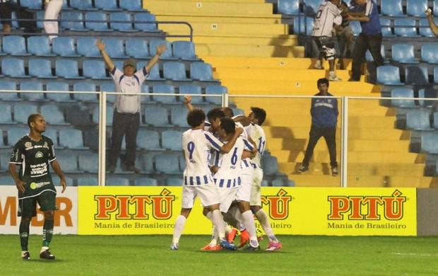 Gol de Antonio Carlos, do Avaí, contra o Icasa (Foto: Jamira Furlani/Avaí FC)