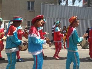 Cantos diferentes encontram harmonia nas Festas de Agosto (Foto: Nicole Melhado / G1)