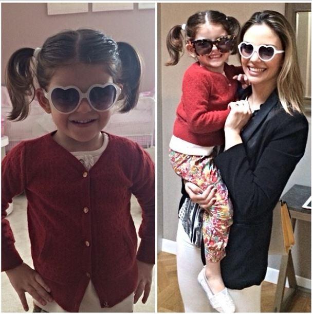 Carol Celico e a filha, Isabella (Foto: Instagram/Reprodução)