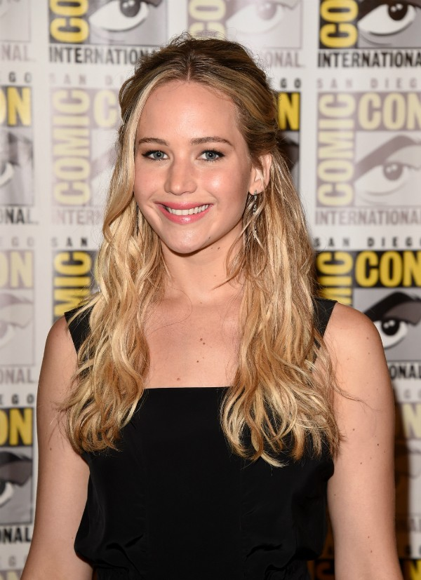 Jennifer Lawrence interpreta Katniss Evergreen em 'Jogos Vorazes' (Foto: Getty Images)