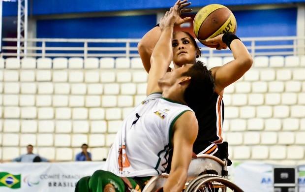 Basquete em cadeira de rodas manaus regional norte (Foto: Marcelo Lacerda/CBBC)