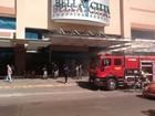 Shopping é esvaziado após princípio de incêndio em Passo Fundo, RS