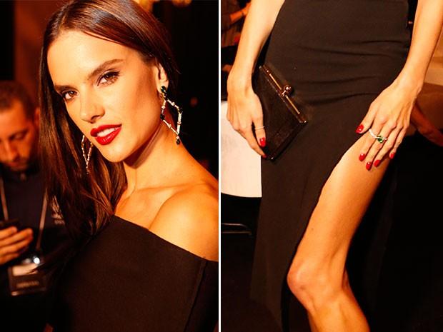 Brinco e anéis da Top Model são avaliados em mais de R$ 300 mil (Foto: Ellen Soares / Gshow)
