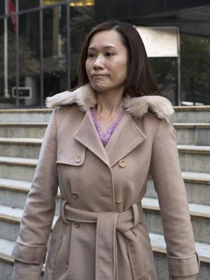 Law Wan-tung, ex-patroa de Erwiana Sulistyaningsih, em foto de arquivo. Ela foi condenada por escravizar a jovem (Foto: Tyrone Siu/Reuters)