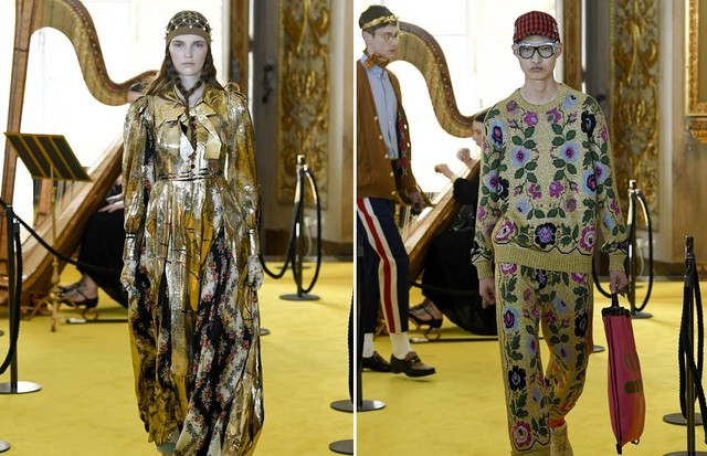 Gucci Cruise 2018 featured looks for men and women (Foto: INDIGITAL)