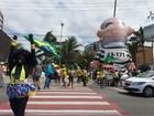 Ato na orla de Maceió cobra celeridade no processo impeachment de Dilma